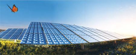 SolFocus solar panel animation