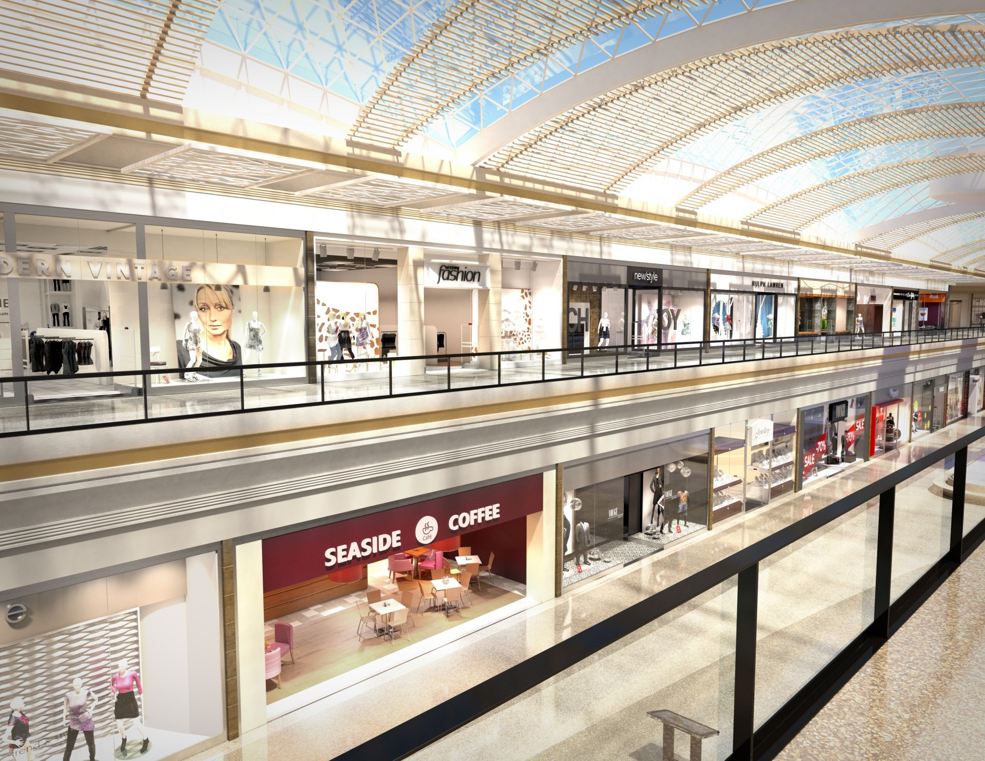 research papers on shopping malls Shopping centre market research:  direct competition for traditional shopping centres, malls need to do more than just provide  to discuss this paper, or to.