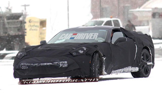 2014 Chevrolet Corvette C7 (spy photo)