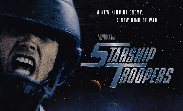 starship troopers mini poster