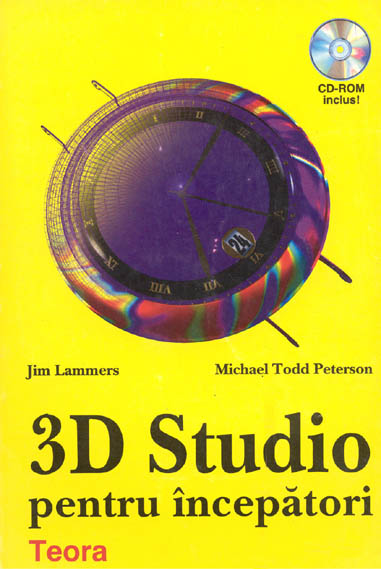 Cover of Hungarian translation of 3D Studio For Beginners book co-authored by Jim Lammers of Trinity Animation