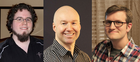 Trinity Animation's Certified Professional Animators - Matt Tyree, Jim Lammers and Travys Keto.