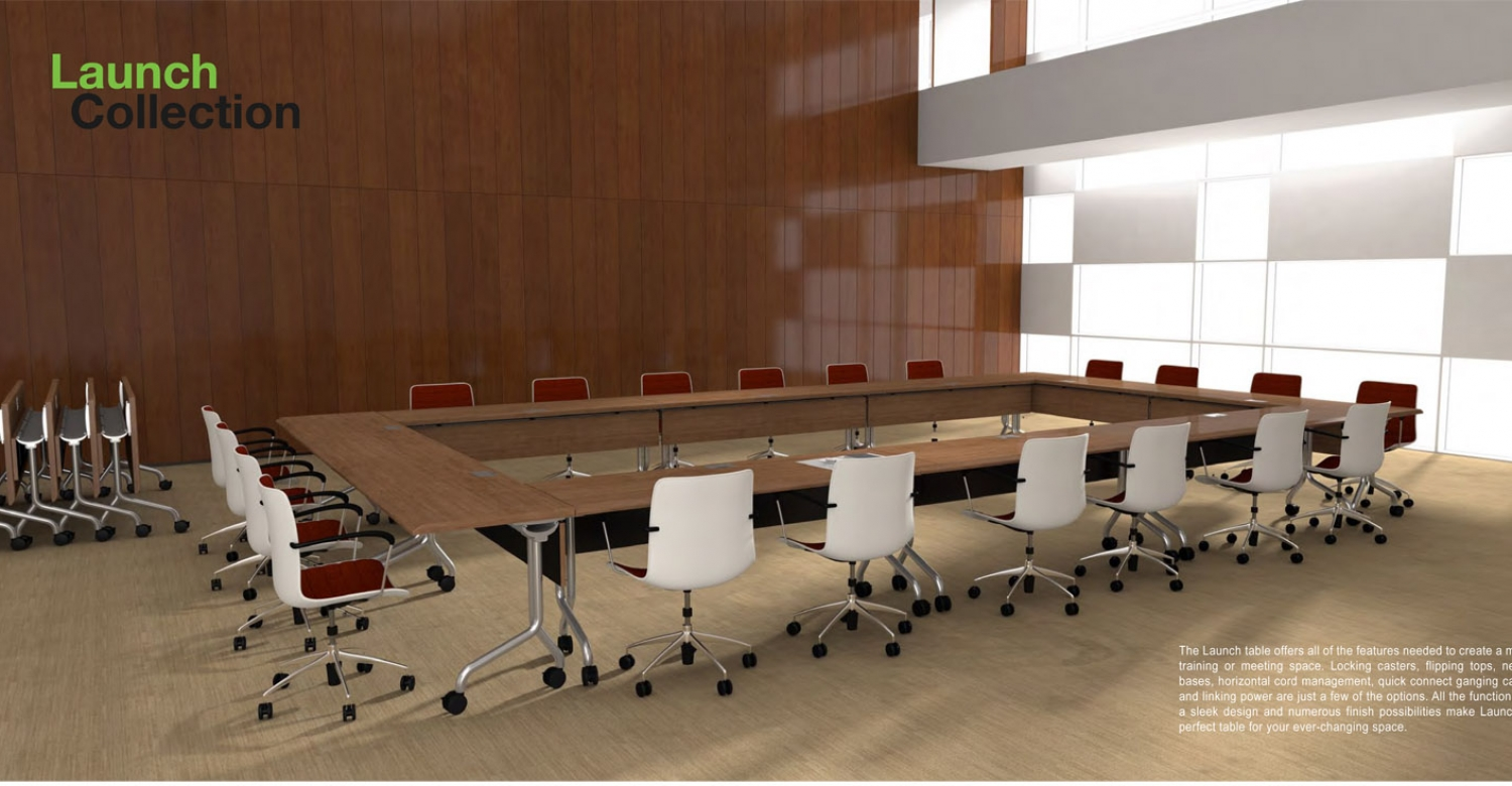 Trinity Animation Furniture Rendering of Launch Collection by Hi5