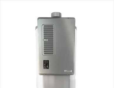 A beauty shot of the water heater proposed design, suitable for marketing brochures.