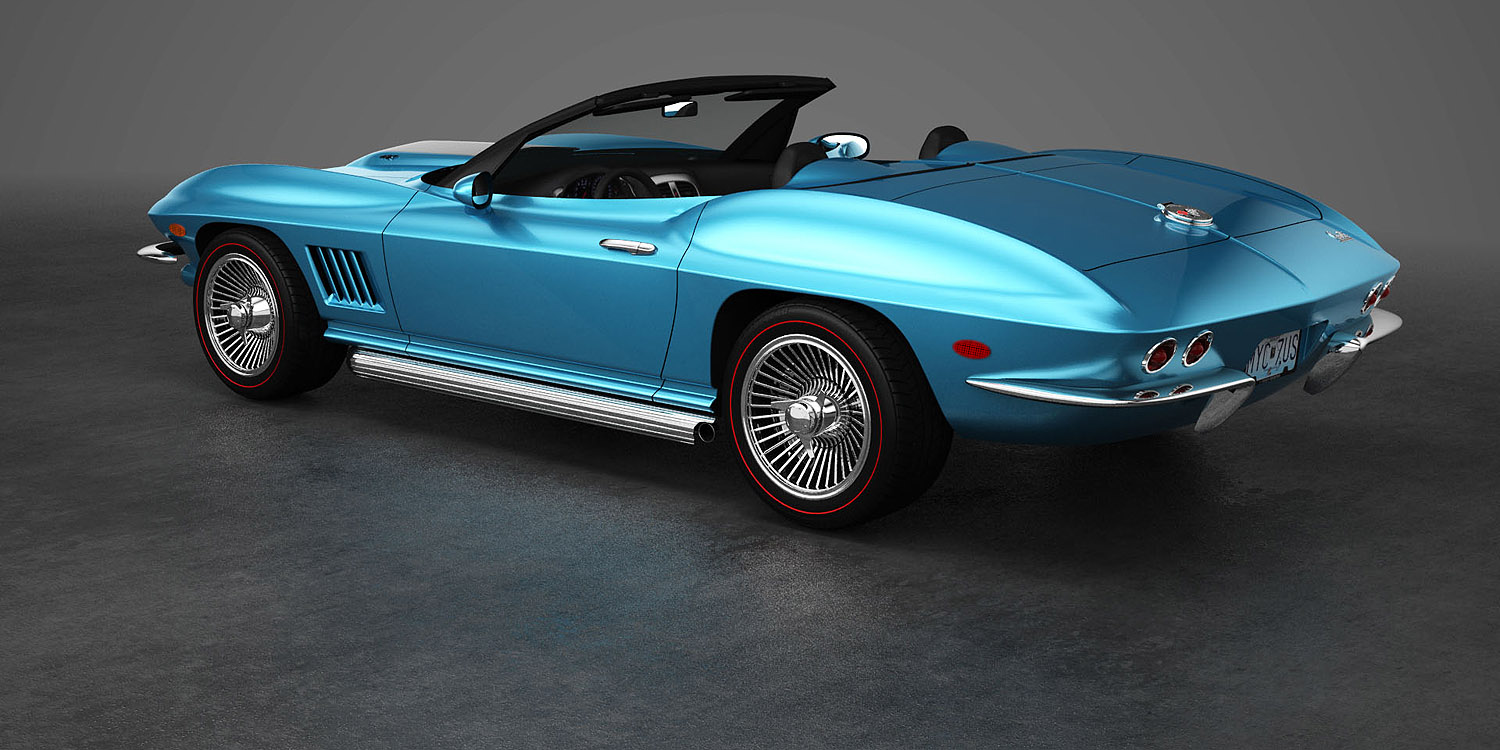 CRC Coachworks 67 Corvette Redesign