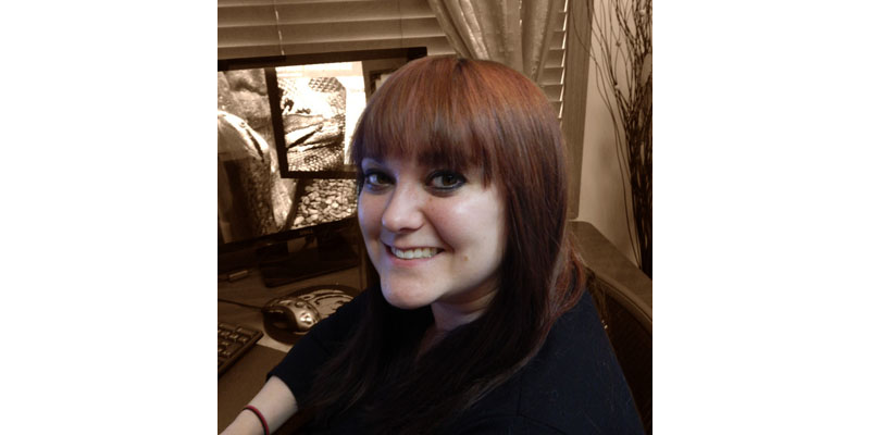 Photo of Trinity Animation animator Mallory Dorn.