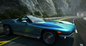 CRC Coachworks Corvette redesign animation.